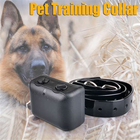 bark collar for large dogs rechargeable no bark collar anti bark shock collar waterproof for large dogs ebay