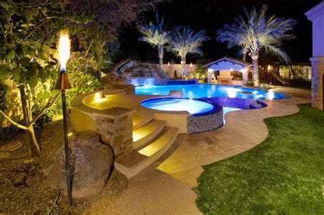 backyard up pools 7 landscaping tips in choosing your above ground swimming pool