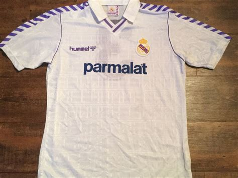 Jersey Retro Madrid By Maniakbola global football shirts 1988 real madrid vintage