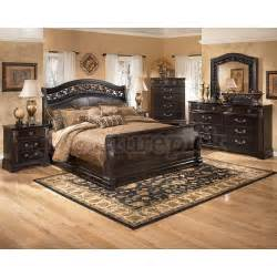 Ashley Bedroom Furniture Sets Suzannah Sleigh Bedroom Set Signature Design By Ashley