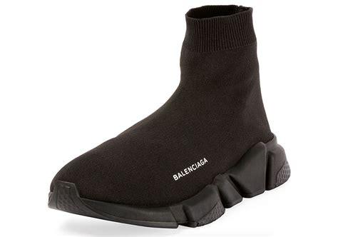 balenciaga speed trainer black sneakernews