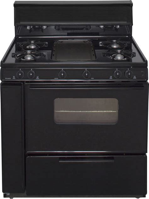Oven Cooktop - premier blk5s9xp 36 inch freestanding gas range with 5