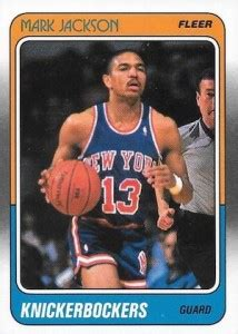 mark jackson playing card top new york knicks rookie cards of all time