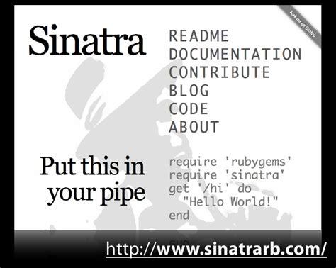 layout sinatra yield sinatraで鼻歌まじりのweb開発