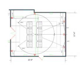 designing room layout media room layout 22 x 17 4 quot