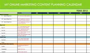 digital marketing calendar template marketing content message plannersynchronicity