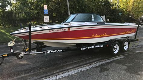 supra boats wisconsin supra mariah 1992 for sale for 1 boats from usa