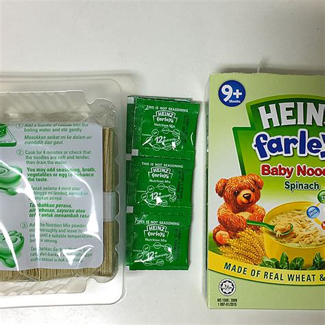 Heinz Farley S Baby Noodle heinz farley s baby spinach noodles whoisbabydustmummy
