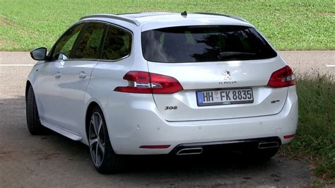 peugeot hatchback 308 2016 peugeot 308 gt wagon acceleration test the golf gtd