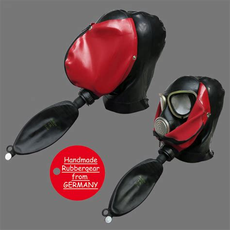 studio gum rubber studio gum gas mask latexmaske gasmaske