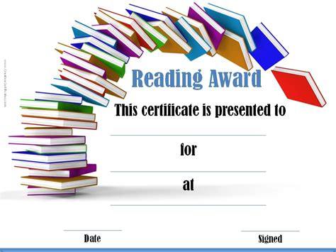 free award certificate templates for students free printable reading certificate templates ptp6k8ux