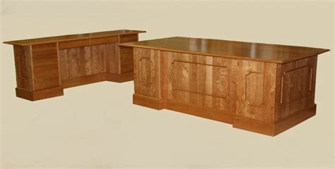 wood office desk furniture custom solid wood executive desks and conference table
