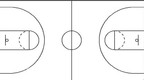 basketball number diagram basketball court dimensions hoop coach