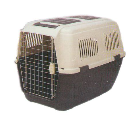crate puppy fibre flight crate puppy small lxwxh 23 5x15 5x13 5 inch blue grey