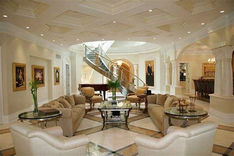 glamorous living rooms glamorous living room design with beautiful staircase and