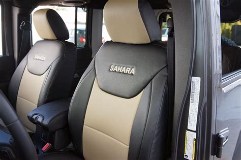 2016 jeep unlimited seat covers jeep wrangler 2013 2016 iggee s leather custom seat cover
