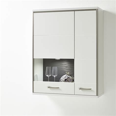 wall mounted glass cabinet libya glass wall mounted display cabinet in white gloss