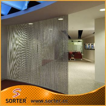chain curtain room divider metal ball chain curtain room divider office cubicle