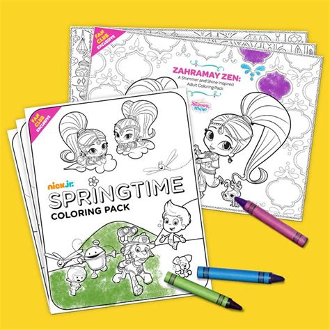 nick jr coloring pages spring 36 best coloring pages images on pinterest coloring