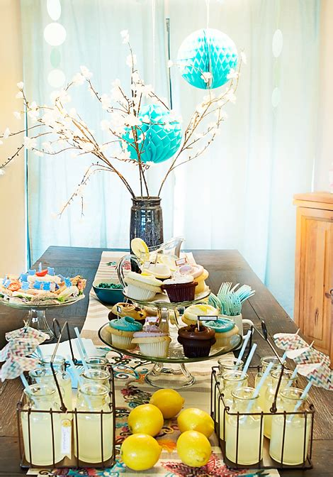 table decor for baby shower decorating a modern baby shower ideas