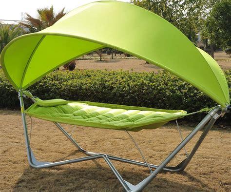 Outdoor Canopy Free Standing Hammock ? GearNova