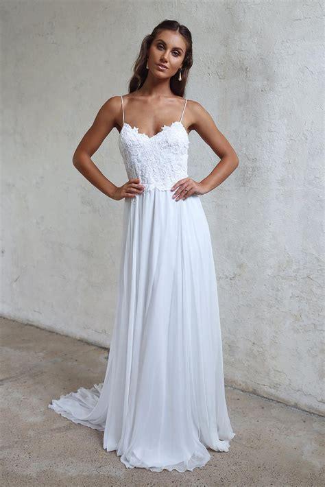 2018 Sexy Beach Wedding Dress, Summer Beach Wedding