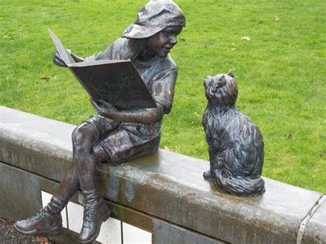 boy  girl garden statues images  pinterest