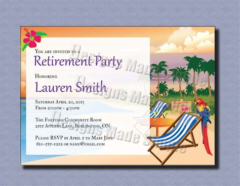 customize 4 000 retirement party invitation templates online canva
