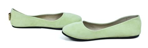 lime green flat shoes sole ny sloop lime green suede ballerina slip on
