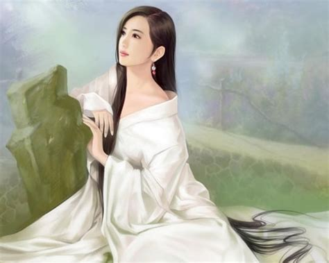 new chinese girls painting anime magazines chinese girl paintings 15