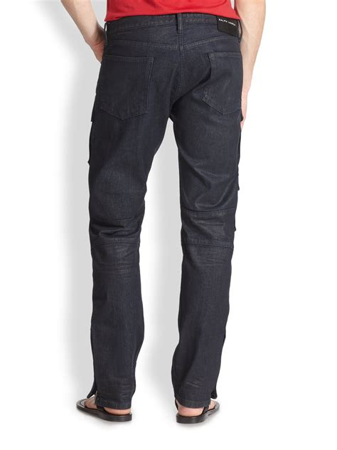 Cargo Pant Black 1 ralph black label courier cargo in blue for lyst