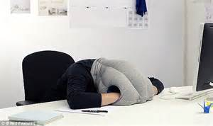 Ostrich Desk Pillow by Ostrich Pillow Mini Allows Tired Tourists To Snooze On A
