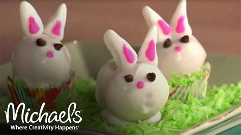 easter cake pops easter projects decor michaels youtube