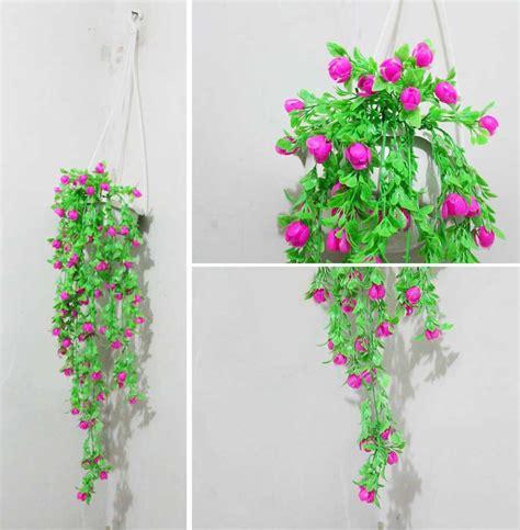 jual bunga plastik bunga hias bunga artificial pot