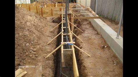 concrete basement construction this before pouring a concrete foundation construction tips funnydog tv