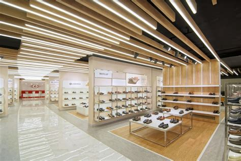 retail design showroom in wood alkindy group office and showroom by oso architecture
