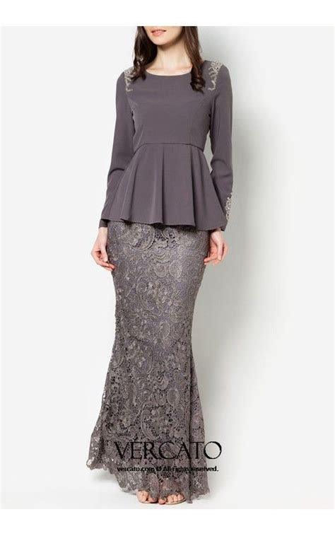 Peplum Brukat Top best 25 baju kurung ideas on draped skirt