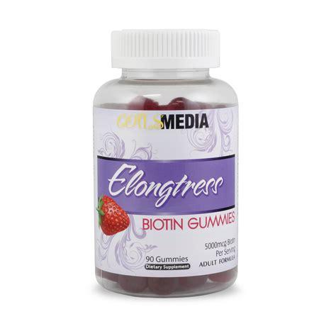 supplement biotin biotin vitamin supplements elongtress biotin gummies