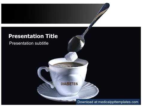 diabetes powerpoint templates diabetes mellitus powerpoint template