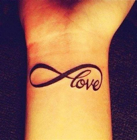 infinity tattoo with words 45 infinity ideas ideas