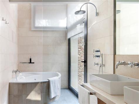 bathroom tile choices luxury villa with golf course views