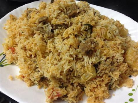 Kitchens Of India Hyderabadi Biryani Recipe Tahari Recipe Indian Kitchen
