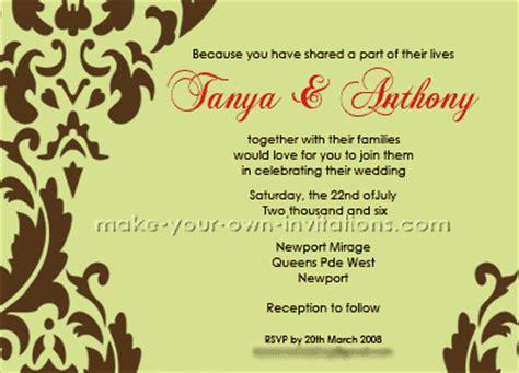 sle wedding invitation cards nigeria sles of wedding card toast chatterzoom