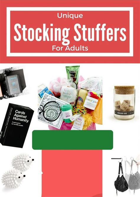 stocking stuffers for adults holiday gift guide 2016 unique stocking stuffers for