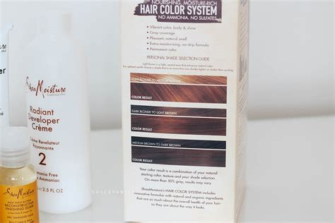 shea moisture hair color system sheamoisture hair color system review dolce vanity