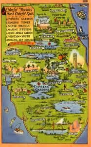 florida tourism map touristic map