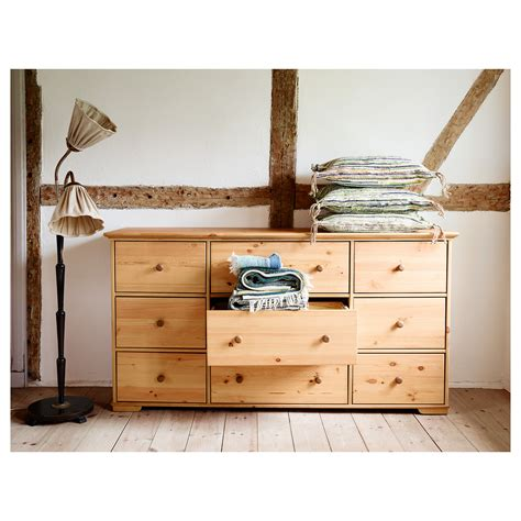 ikea hurdal bed hurdal chest of 9 drawers light brown 176x93 cm ikea