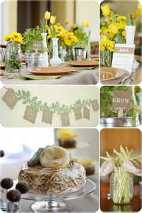 Moose Themed Home Decor Rustic Garden Themed Baby Shower Pizzazzerie