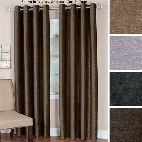 velvet grommet curtains victoria heavyweight velvet grommet curtain panels