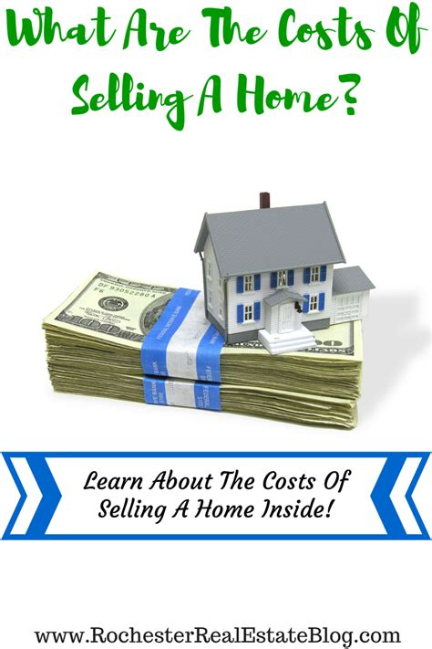 what are the costs of selling a home